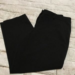 Elite Tahari Cropped Black Dress Pants Sz 0